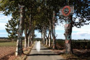 Awaking totem poles