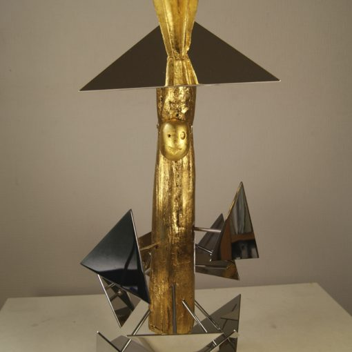 Cosmic shaman doll, triangle head