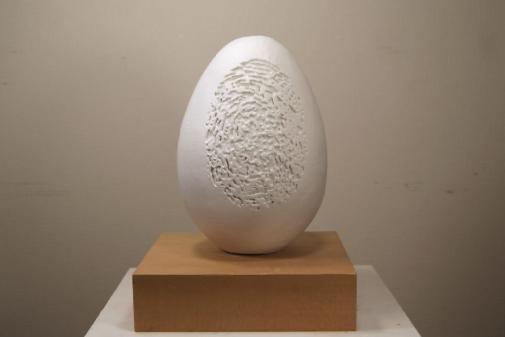 Personal egg, white